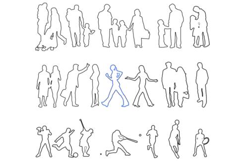 IllustratorとPhotoshopで簡単!キレイな添景のパスデータの作り方