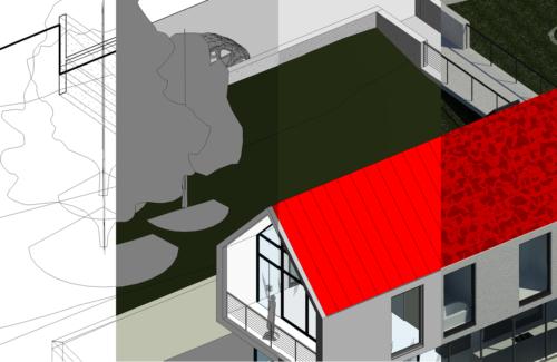 Revit虎の巻:3Dビューの各表示スタイルの特徴