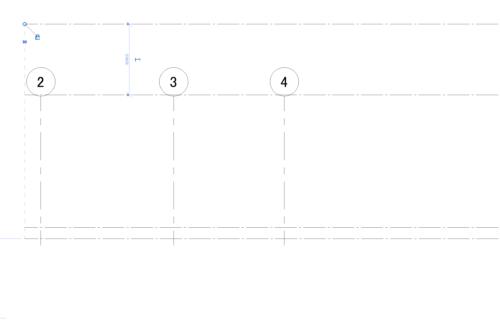 Revit虎の巻:通り芯とレベル設定