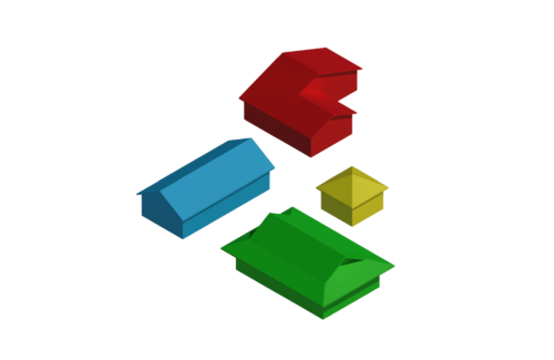 Revit虎の巻:屋根の作り方