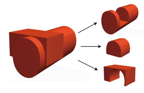 ARCHICADモルフツールの使い方 ブール演算